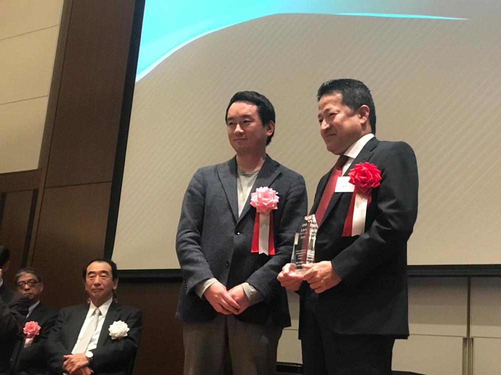 CNBベンチャー大賞にて、最優秀賞を受賞